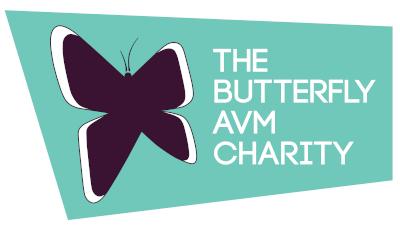 Butterfly AVM Charity Logo